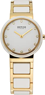 BERING Time 10729-751 Womens Ceramic Collection Watch with Stainless Steel Band and Scratch Resistant Sapphire Crystal. Designed in Denmark.