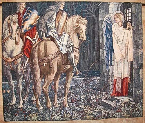 TJJY Tapisserie Jacquard Médiévale Classique Tapis de Pique-Nique