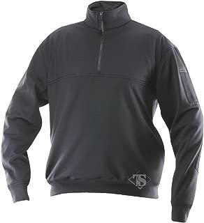 Men's Grid Fleece Zip Thru Job Shirt