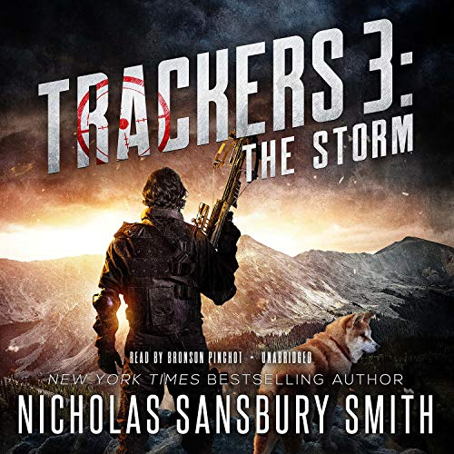 Trackers 3: The Storm Audiobook By Nicholas Sansbury Smith cover art