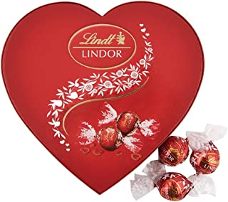 Lindt Valentines Lindor Milk Heart Box, 160 gm