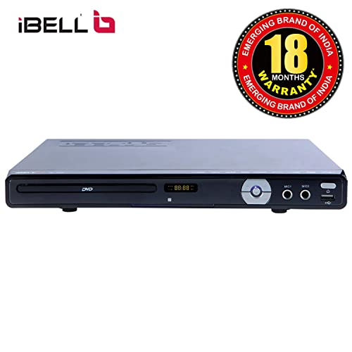 Ibell IBL3288 Dvd Player With Usb Port/SD/MMC/MS Card Reader & Built-In Amplifier
