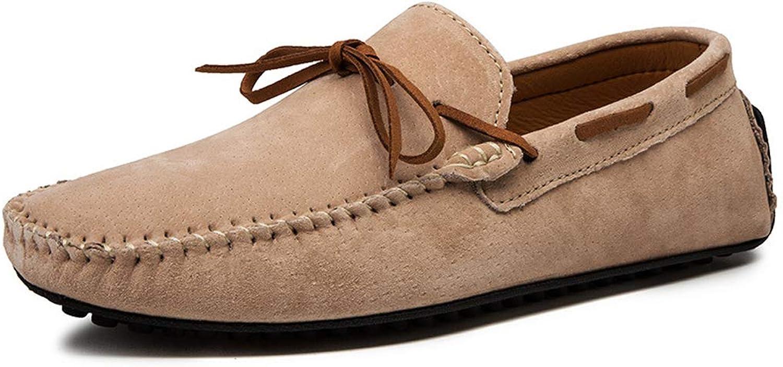 TYX-SS Casual shoes Large Size Men'S shoes Men'S Peas shoes Leather Trend Korean Lazy shoes Driving shoes