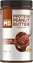 MuscleBlaze High Protein Peanut Butter,750g (Dark Chocolate) (Dark Chocolate, 750g)