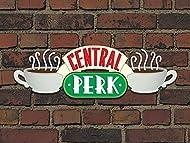 """Friends """"Central Perk Brick"""" Canvas Print, Cotton, Multi-Colour, 3.20 x 60.00 x 80.00 cm"""