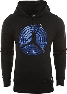 Nike Mens Air Jordan AJ 11 Fleece Pull Over Hoody Black/White 823714-010 Size X-Large