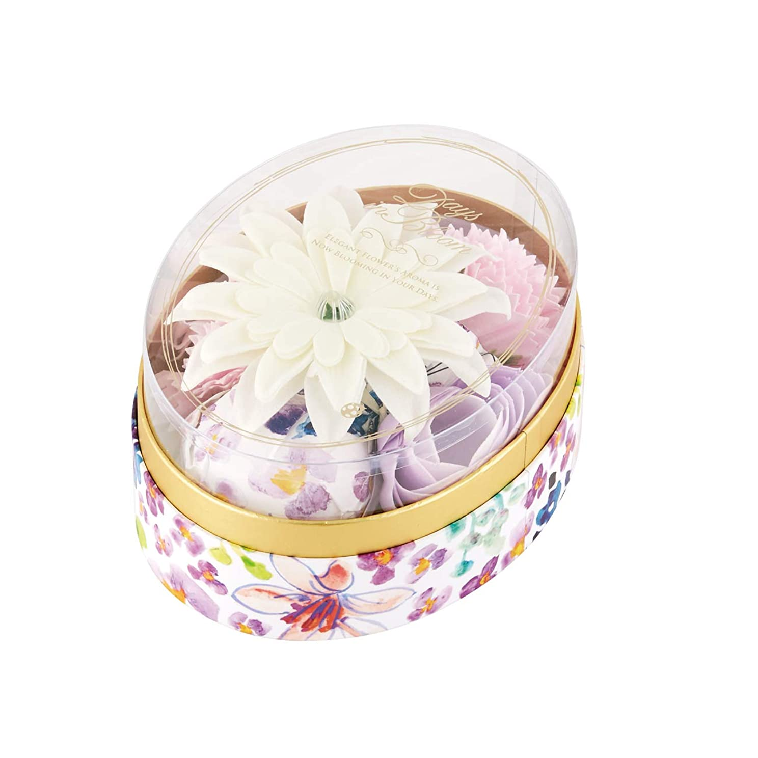 デイズインブルーム バスセットオーバル リリー(プレゼント プチギフト 花ギフト 百合の香り)