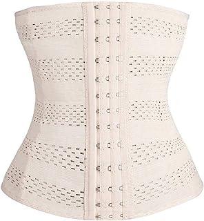 Waist Support Womens Waist Trainer Cincher Body Shaper Underwear Lingerie Tummy Slim Belt Postpartum Control Underbust Ste...