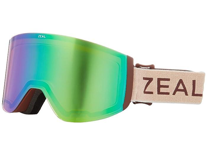 Zeal Optics Hatchet (Maroon Bells w/ Jade Mirror + Sky Blue Mirror) Snow Goggles