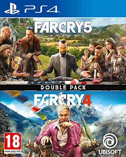 Far Cry 4 + Far Cry 5 - PlayStation 4 [Edizione: Regno Unito]