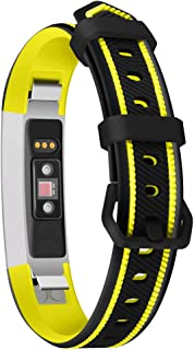 RoJuicy Smart Bracelet Sports Silicone Watch with Two-Color Silicone Replacement Wrist Strap for Fitbit Alta