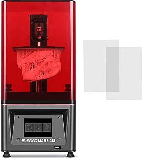 ELEGOO Mars 2 Pro Mono MSLA Imprimante 3D en Résine UV Photopolymérisation Printer 3D avec l'Écran LCD Monochrome 2K de 6 ...