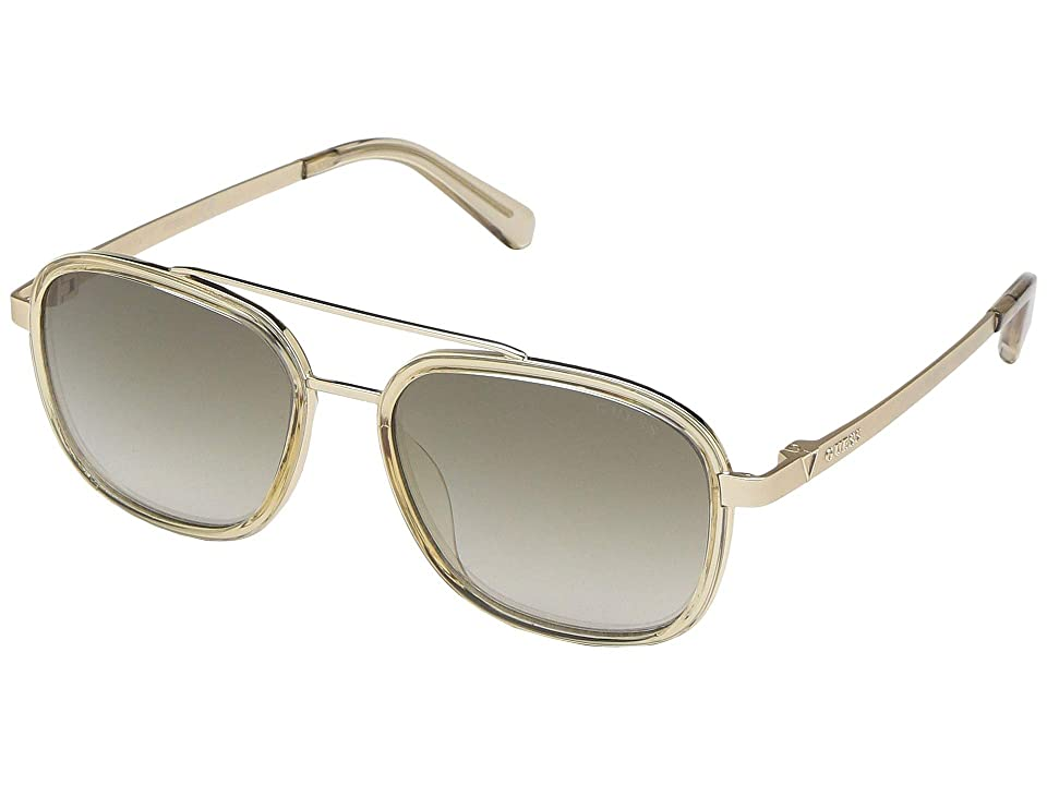 GUESS GU6950 (Yellow/Other/Brown Mirror) Fashion Sunglasses