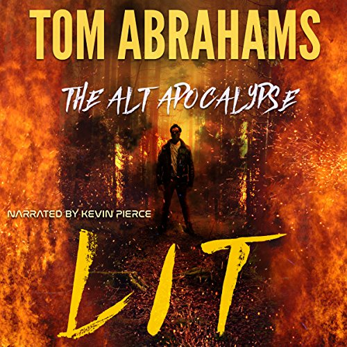 Lit audiobook cover art