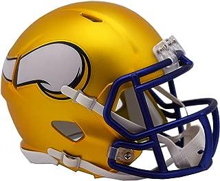 NFL Minnesota Vikings Alternate Blaze Speed Mini Helmet
