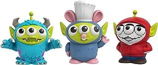 Mattel Disney Pixar Alien Remix - Pack de 3 figuras de Miguel, Sulley y Remy, multicolor (GPD05)