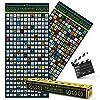 Top 250 Movie Bucket List Scratch Map Poster XXL - La última lista de guía de películas para rascar con las mejores películas de todos los tiempos como un póster de película para rascar 100 x 45 cm #3