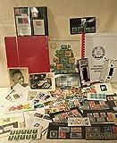 Boemaus500 Briefmarken Überraschungs Kiste DDR mit DDR Münzen Briefmarken Album Lupe Pinzette Trockenbuch UVM