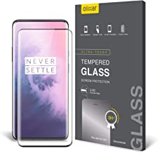 Olixar for OnePlus 7 Pro Screen Protector Tempered Glass - Shock Proof, Anti-Scratch, Anti-Shatter, Bubble Free, Clear HD Clarity Full Coverage Case Friendly - Easy Application