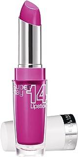 Maybelline SuperStay 14H Megawatt 120 Neon Pink barra de labios Rosa - Barras de labios (Rosa Neon Pink Francia 82 mm ...