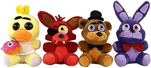 4pcs Lindo De Los Animales De Peluche De Juguete Cinco Noches En del Tema El De Freddy Juguete Relleno Felpa Juega El Regalo De Animales