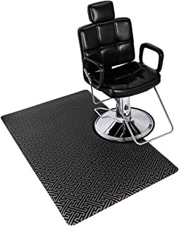 Mefeir 3 ft. x 5 ft 5/8'' Thick Anti Fatigue Salon & Barber Shop Standing Mat for Hair Stylist, Spa Beauty Rectangle Floor Matt for Styling Chair, Non-Slip Waterproof