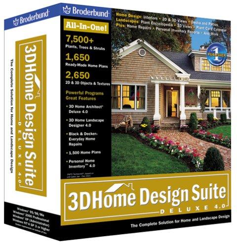 3D Home Design Suite Deluxe 4.0
