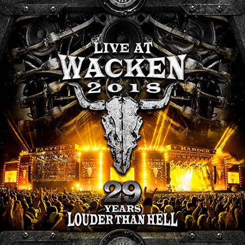 Live At Wacken 2018: 29 Years Louder Than Hell / Various (DVD WithBonus CD)