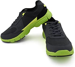 Vector X RS-5013 Running Shoes, (Grey/Green)
