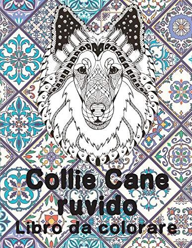 Collie Cane ruvido - Libro da colorare