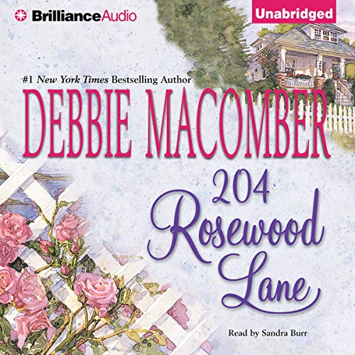 204 Rosewood Lane     Cedar Cove, Book 2              By:                                                                                                                                 Debbie Macomber                               Narrated by:                                                                                                                                 Sandra Burr                      Length: 11 hrs     546 ratings     Overall 4.2