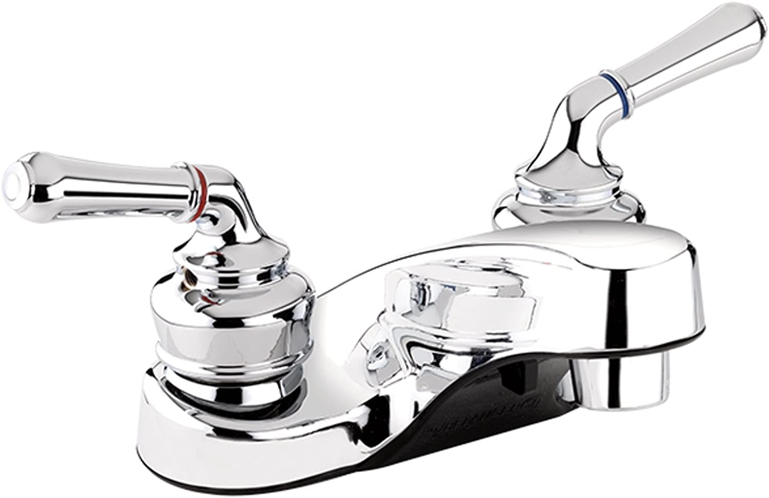 Belanger 21463W Bathroom Sink Faucet with 2 Handles and 4  Centerset, Polished Chrome