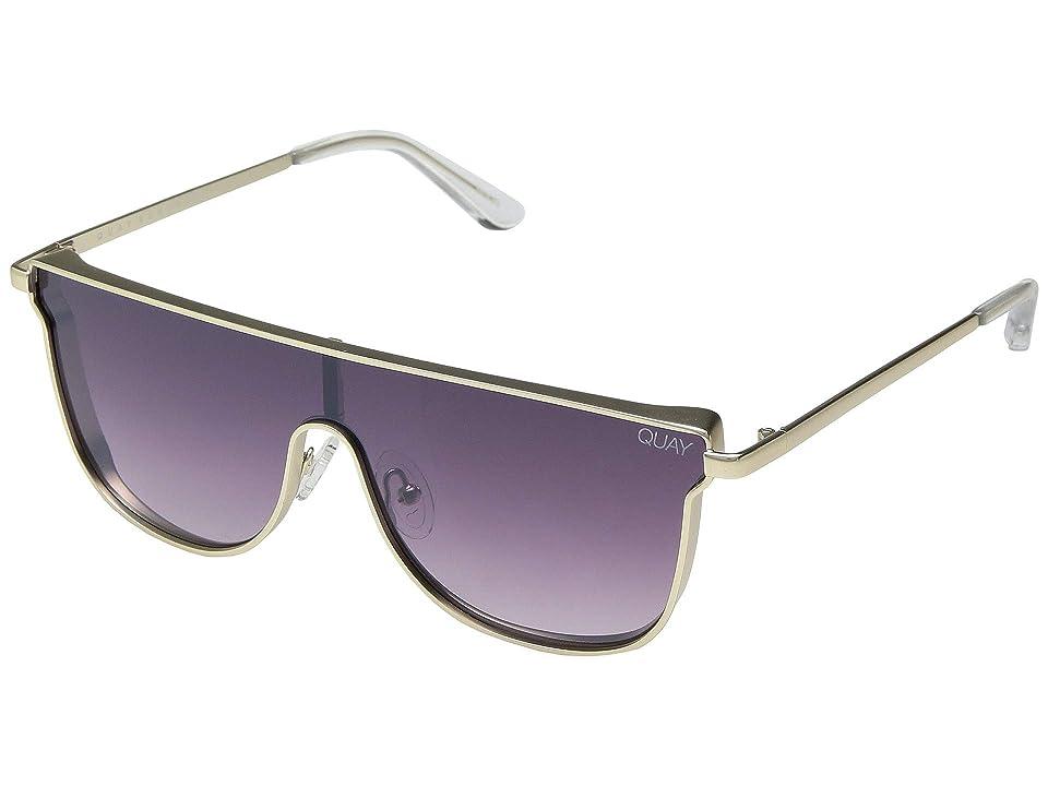 QUAY AUSTRALIA Can You Not (Gold/Purple Fade) Fashion Sunglasses