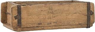 Ib Laursen UNIKA pudełko do przechowywania z drewna, 31 cm, styl vintage, uniwersalne pudełko pomocnicze do porządkowania,...