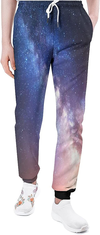 Looking Up at The Stars Sweatpants Man Casual Pants Loun Joggers online shopping Bargain