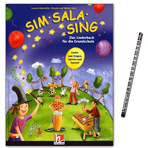 Sim Sala Sing - Ausgabe: Deutschland - 230 Lieder und Kinderhits zum Singen, Spielen, Bewegen und Gestalten in der Klasse - Liederbuch für die Grundschule mit Piano-Bleistift - S5625-9783850613118