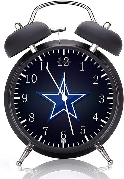 牛仔黑色闹钟 4 家庭办公室装饰 E132 礼物