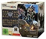 New Nintendo 3DS Konsole inkl. Monster Hunter 4 Ultimate + Zierblende - Schwarz