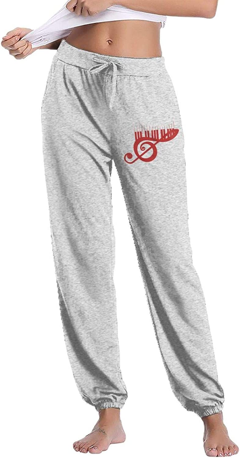 Rajapamiey Music Notes and Piano Keys Active Limited price Long-awaited Long Casual Women S