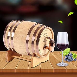 Tonneau à vin en bois Tonneau à vin en bois de chêne blanc fait main avec support - Baril de chêne personnalisé, baril de ...