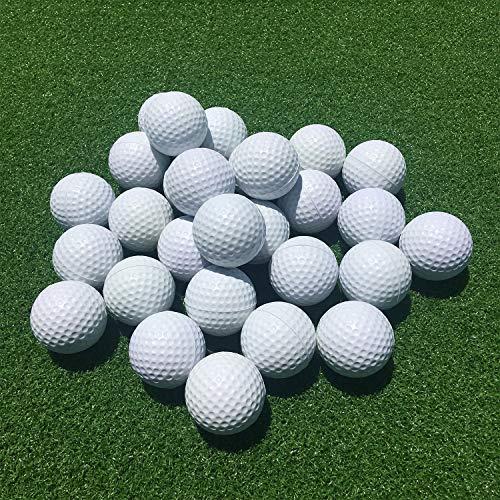 SkyLife Golf Practice Balls, Soft Golf Foam Balls for Indoor Outdoor Backyard Training (White 24pcs)