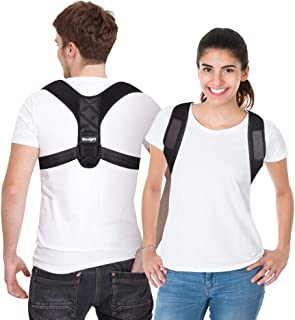 Posture Corrector for Men and Women, Adjustable Upper Back Brace for Clavicle Support and Providing Pain Relief from Neck,...