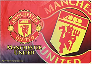 FCflags FC Man Utd.(Manchester United) Flag Soccer Banner 3x5 Authentic Football Club for Outdoor Red