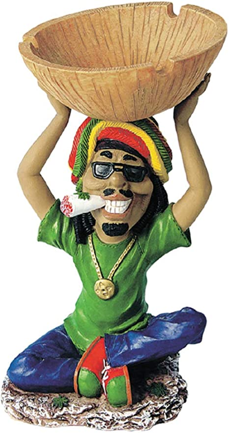 Vintage 1980/'s Raggae Jamaica Ashtray Excellent condition No sales outside of the continental U.S. Like new 6 inches across