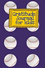 Gratitude Journal for Kids: Blue Baseball Sports Themed Guided Journal Notebook Diary to Teach Children Boys Girls to Practice Express Mindfulness by ... Daily Prompts, Positive Affirmation Questions