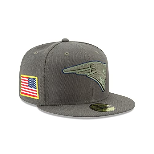 5a05eed9a New Era New England Patriots 2017 Salute to Service 59Fifty Fitted Hat –  Olive