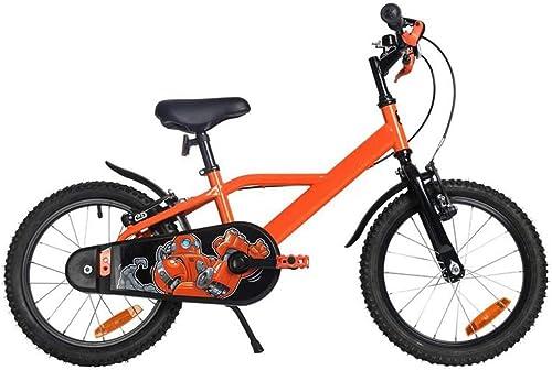 gran descuento YUMEIGE YUMEIGE YUMEIGE Bicicletas Bicicletas para Niños, con la Bicicleta para Niños Bell de Coche, 16 Pulgadas, Adecuada para 3-6 años de Regalo para Niños de 4 Colors Disponibles Disponible (Color   naranja)  precios mas baratos
