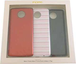 Incipio Design Series Back Plates for Moto Z Droid Z Froce Z Play MT-393-VDAY-V