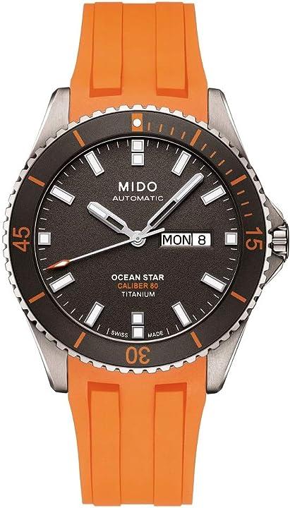 Orologio mido ocean star m0264304706100 orologio automatico uomo