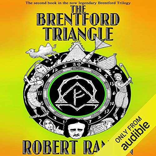 The Brentford Triangle audiobook cover art